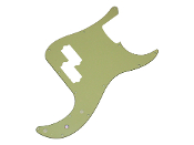 P Bass Pickguard, Mint Green