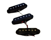 Strat Pure Noiseless Pickup Set, Black