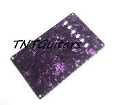 Strat Trem Cover, Vintage Style, Purple Pearl
