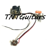 1V1T One Pickup Wiring Harness ~ CTS Push Pull Coil Split