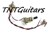 1V Prewired Harness, 2 Pickup CTS Pot HH/HS 3W Toggle