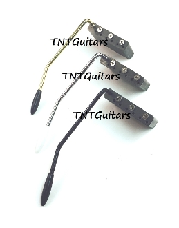 strat tremolo steel block arm mim fit