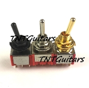 Mini Switch, Three Way / Position Toggle Style Pickup Selector