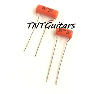 Sprague Orange Drop Cap Style Tone Cap, Audio Tone Capacitor