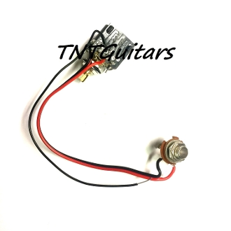 1v one pickup wiring harness cts push pull pot one pickup wiring harness cts push pull pot coil splitting sciox Images
