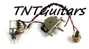 1V Prewired Harness, 2 Pickup, Push Pull Pot HH/HS 3W Sealed Blade Switch