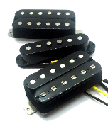 Dragonfire Area 52 Humbucker-Single-Humbucker Pickup Set