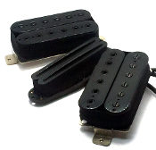Phury Duo HSH Pickup Set, Humbucker-Single-Humbucker Dual Blade Rails & Adjustable Hex Poles