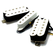 Phury Hex HS Pickup Set, Humbucker-Single Pickups Adjustable Hex Poles