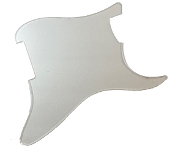 Blank Strat Pickguard, Clear / Transparent