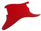 Blank Strat Pickguard, Red