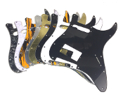 Strat Pickguard HS, Angled Humbucker, Color Choice Clearance