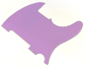 Blank Tele Pickguard - Create Your Own Telecaster Guard! Completely Blank: No Pickup Holes, No Mounting Holes, No Control Holes ~ Purple