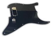 Dragonfire Mini Bucker Prewired One Humbucker Pickup Loaded Wired Pickguard, Vintage Performance in Mini Humbucker Size ft. AlNiCo Magnets, Choice of Colors, Styles & Wiring Options, Custom Guard, Built to Order Prewired Build